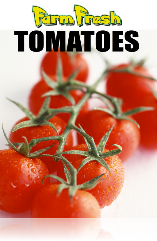 "Tomatoes Poster-36""W x 48""H"