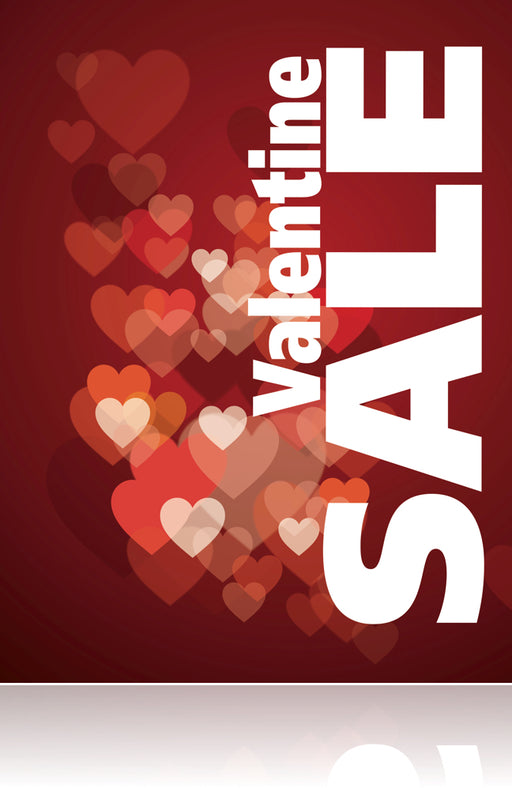 "Valentine Sale Sign Poster -36"" x 48"""