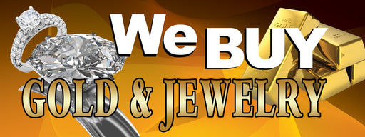 We Buy Gold & Jewelry Banner-Ring Design