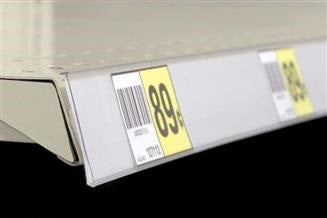 White Adhesive Backed Ticket Molding Strips
