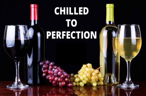 Chilled Wine Shelf Sign Price Cards-10 signs