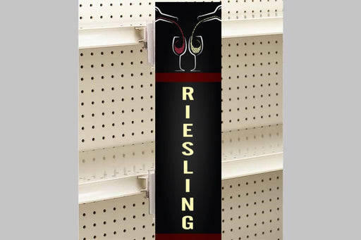 Wine Aisle Invader Violator Blade Sign-Riesling
