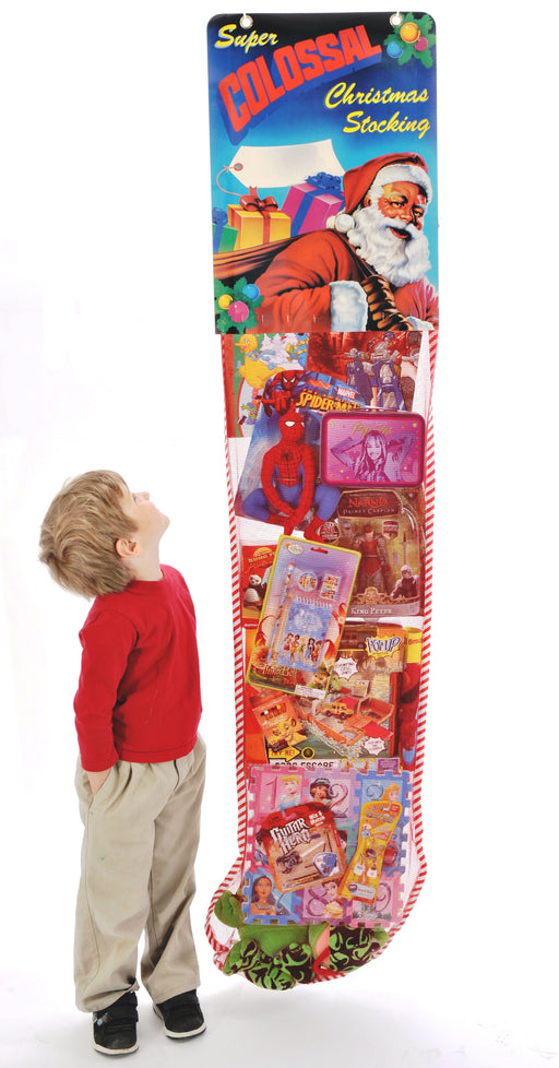 Christmas Toy Filled Stocking Sweepstakes-Contest Giveaway- Promotional Item - screengemsinc