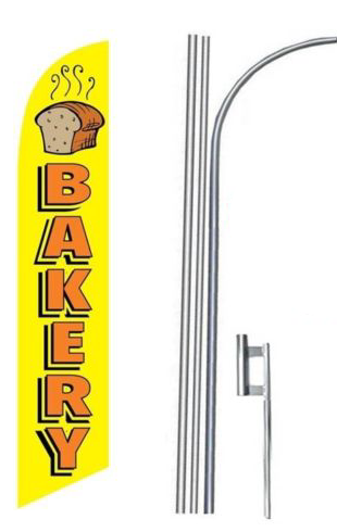 Bakery Feather Flag Kit