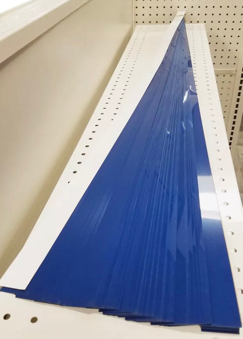 "Blue Price Channel Molding Strips-48""W x 1.25""H -100 pieces - screengemsinc"