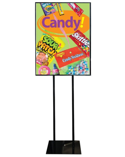 "Candy Floor Stand Stanchion Signs-22"" W x 28"" H"