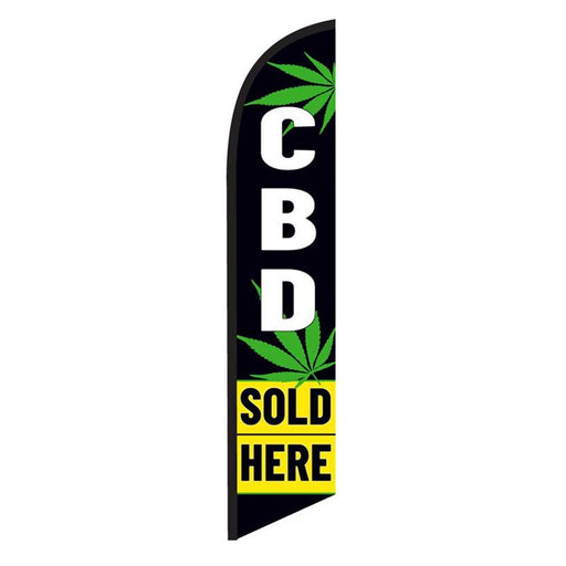 CBC Sold Here Feather Flag