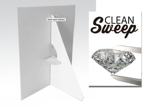 Jewelry -Clean Sweep Easel Sign