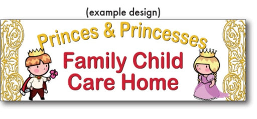 Daycare Childcare Banners-Custom Printed