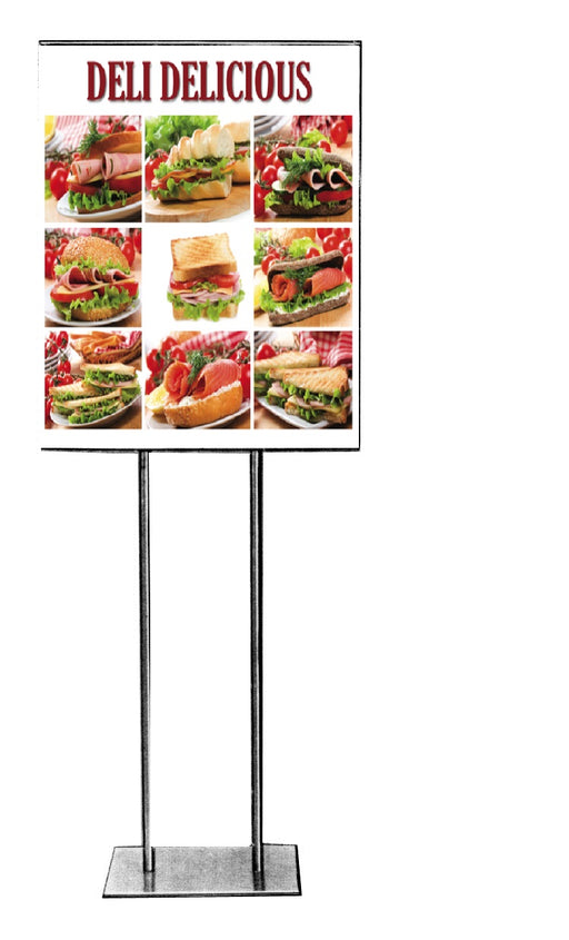 Deli Floor Stand Stanchion Sign