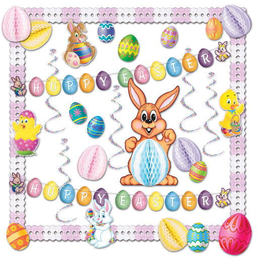 Easter Display Decoration Kit- 32 pieces - screengemsinc