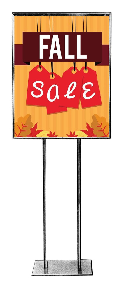 Fall Sale Sign Poster