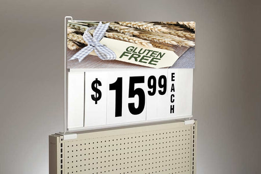 Large Spiral Sign Board Header Gluten Free Insert-6""