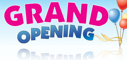 Grand Opening Banner-Balloon Design