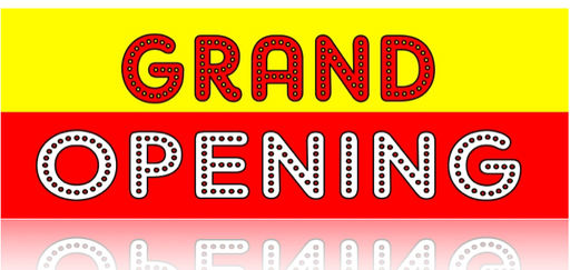 Grand Opening Banner-Hollywood