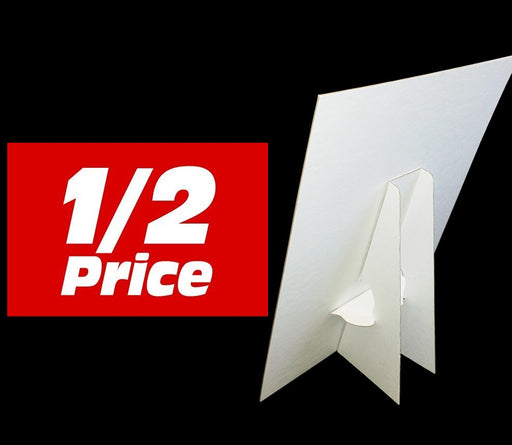 1/2 Price Easel Sign