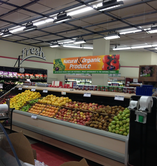 Economical Produce Hanging Signs Ceiling Danglers- Custom Printed