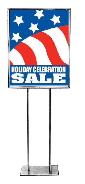 Holiday Celebration Retail Store Standard Posters-4 pieces