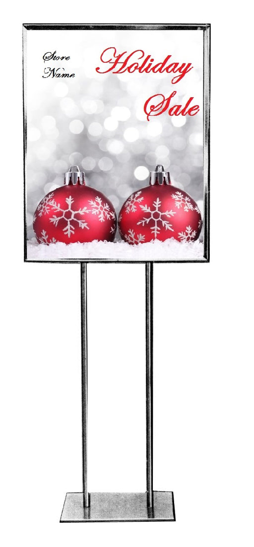 Holiday Sale Event Standard Poster-Floor Stand Sign-Semi Custom