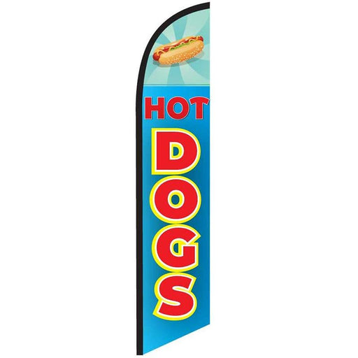 hot dogs feather flags
