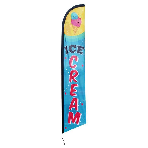Ice Cream Feather Flags Kit