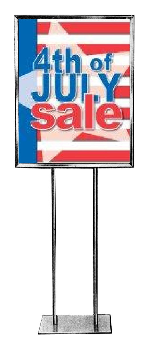 July 4th Sale Posters-Floor Stand Stanchion Signs 22 W x 28 H