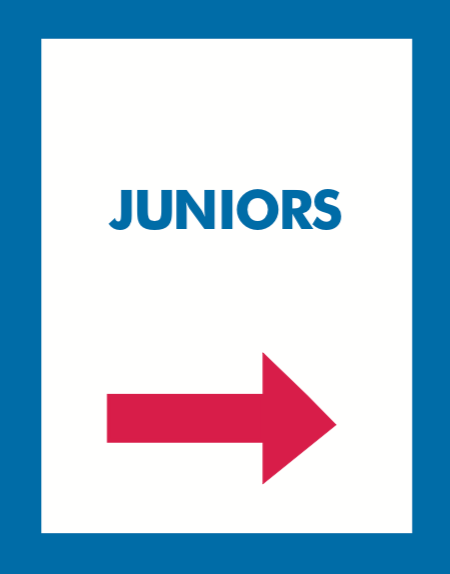 Thrift Store Hanging Aisle Marker Signs-Juniors