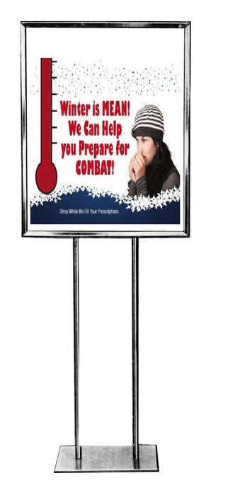 "Pharmacy Standard Poster-Floor Stand Sign-22"" x 28"""