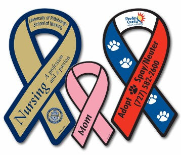 Awareness Ribbon Magnets-Custom Printed