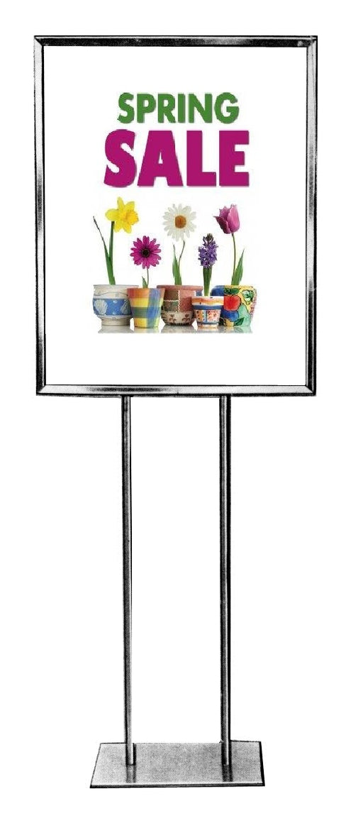 Spring Sale Standard Poster Floor Stand Stanchion Sign