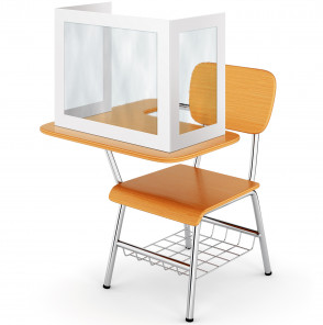 School Desk Shields for Schools- K-12 & Colleges