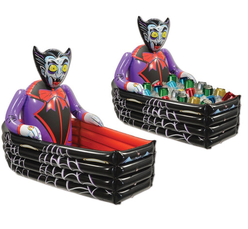 Vampire Coffin Inflatable Display or Cooler