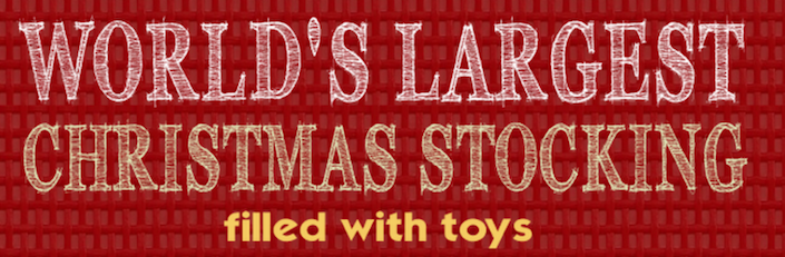 Giant Christmas Toy Filled Stocking Sweepstakes-Contest Giveaway- Promotional Item-8' - screengemsinc