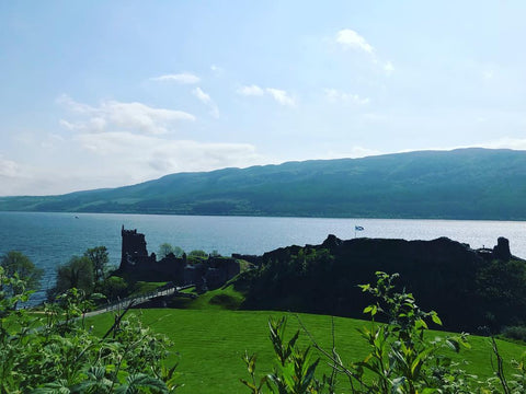 Image of Loch Ness Great Glen and Urquhart Castle by @beautifulandfullofmonsters