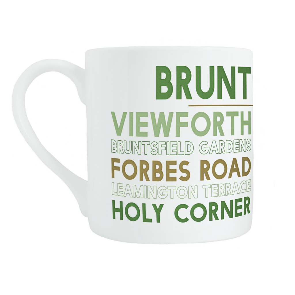 Bruntsfield mug