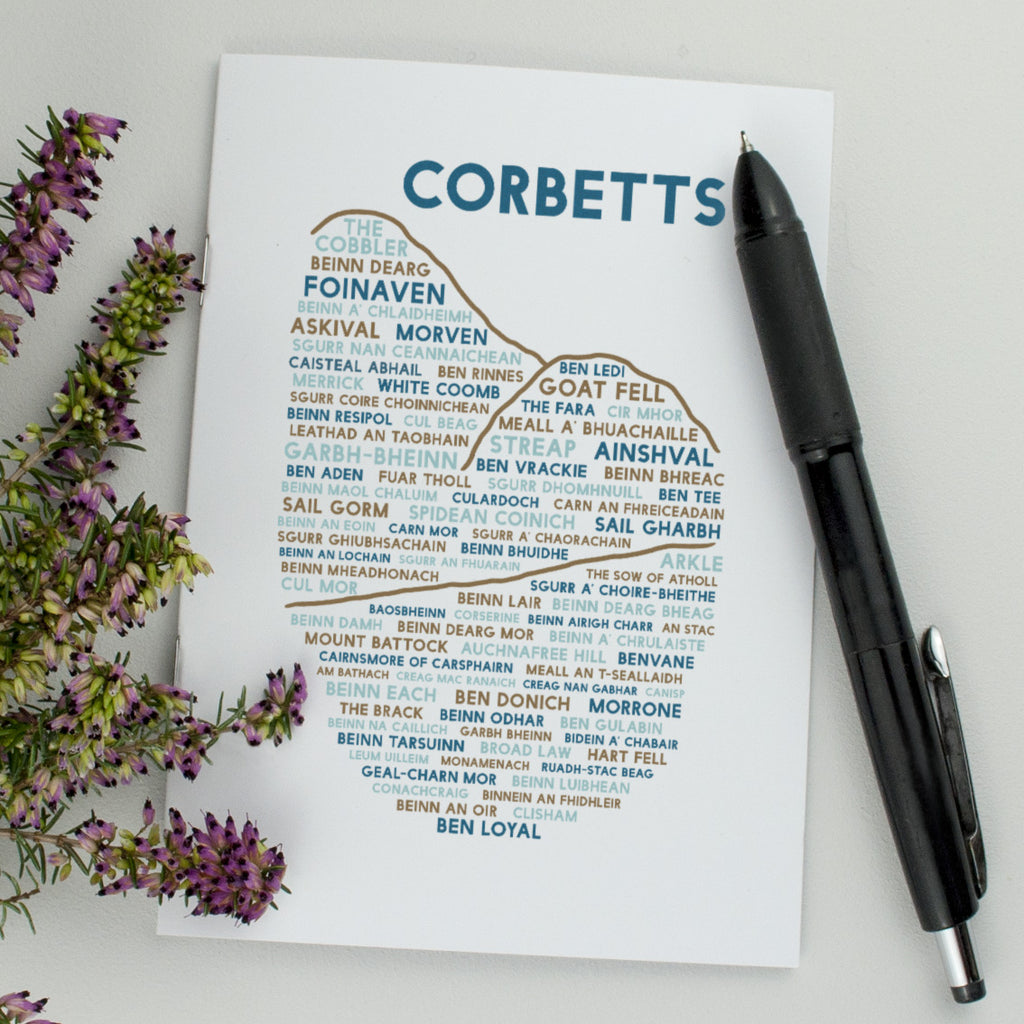 Corbetts notebook