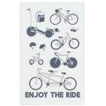 Cycling tea towel