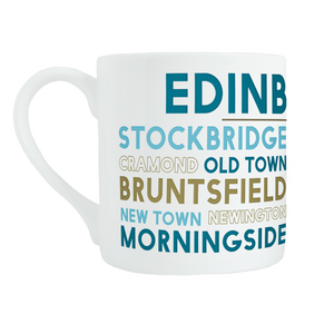 Edinburgh bone china mug