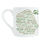 Glens bone china mug