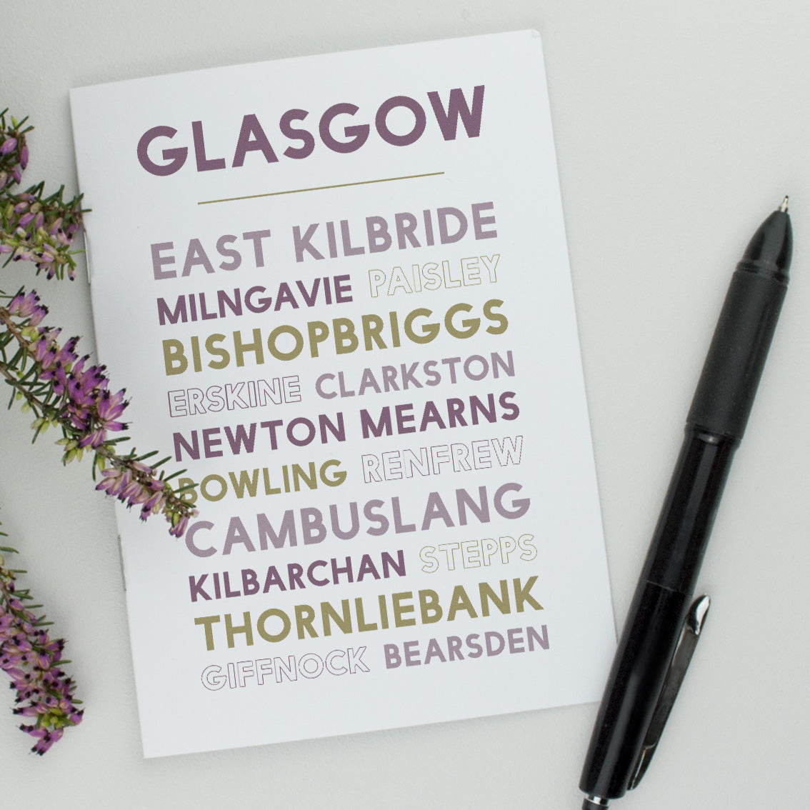Greater Glasgow Notebook