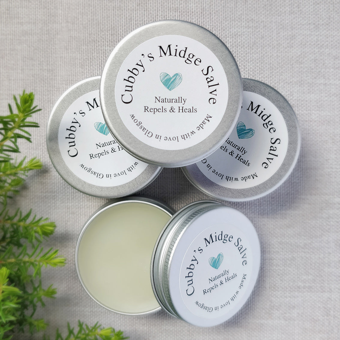 Midge Repellent Salve