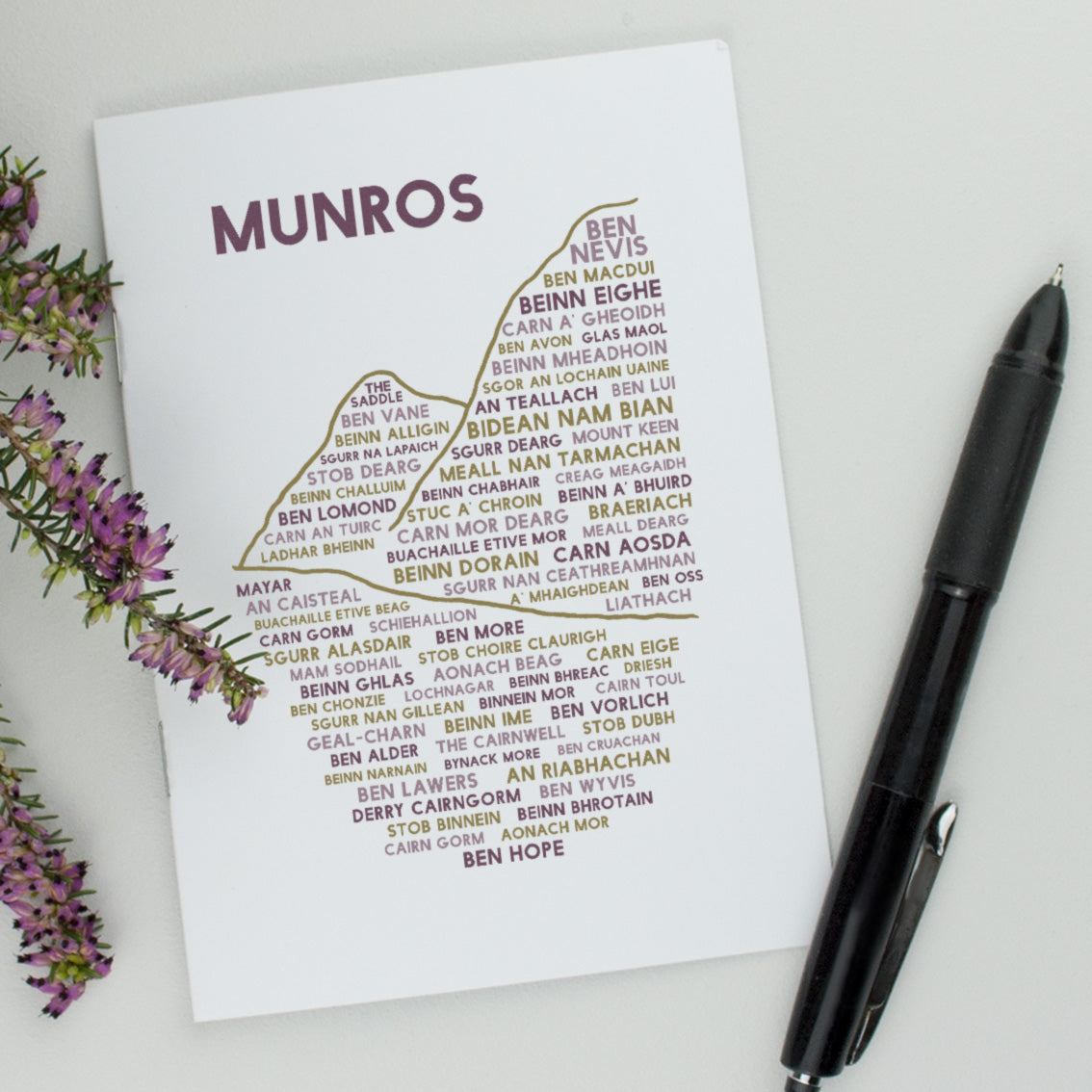 Munros Notebook