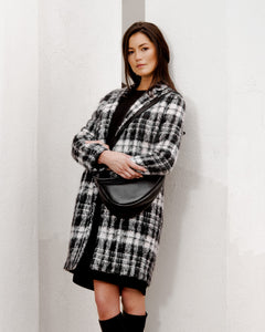 Aspesi Plaid Coat