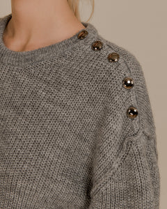Button Detail Sweater