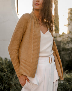 White & Warren Linen Cardigan