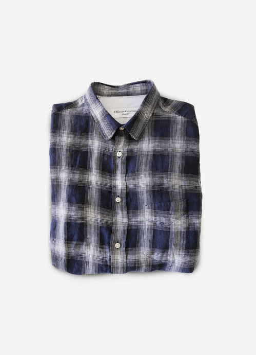 Officine Générale plaid shirt