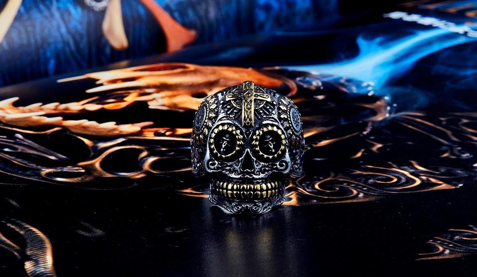 Warrior Skeleton Ring Collection