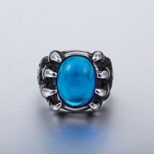 blood claw ring blue side view