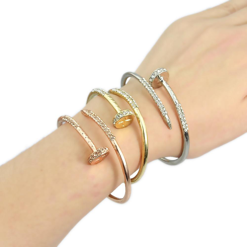 Adjustable Nail Bracelet
