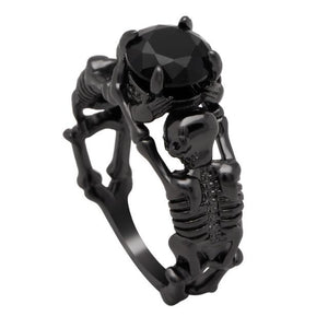 Skeleton Ring black